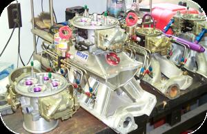 Photo of T317 NMCA carburetors