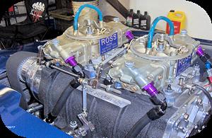 Photo of a blown alcohol fuel 660S carburetor