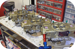 Assortment of typical carburetor projects